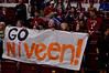 Princeton #24 Niveen Rashid had a big local fan contingent.