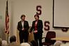 Tara and Joan Bonvincini talk to the fans
