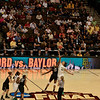 Tip-off goes to Baylor.