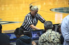 Ref runs replay to see if Bonnie shot a 2 or a 3 (it was ruled a 2)