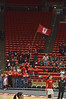 Utes fans were not numerous but enthusiastic