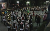 The Stanford and Cal bands outside after the game (André Lalana photo)