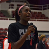 "Chiney answered questions for fans ""behind the bench""."