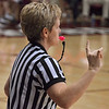 Ref Missy Barlow had a pink whistle.