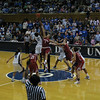 Tip-off at Duke