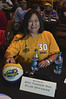 Lily Wong at the Amy Tucker Fan Club table