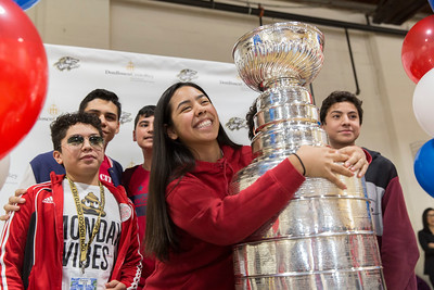Stanley Cup visits DBCR