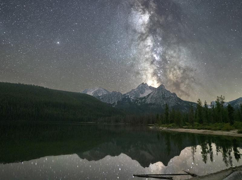 Milky Way Explodes at Lake Stanley