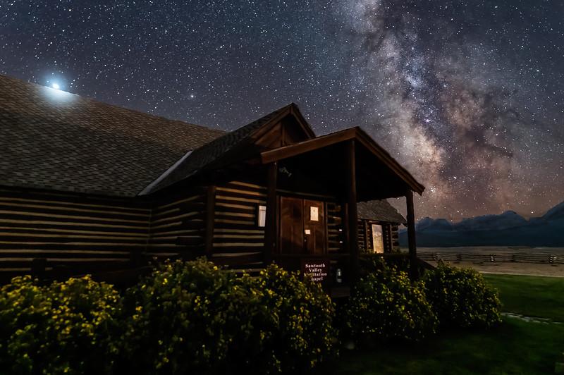 Stanley Meditation Chapel Under the Stars