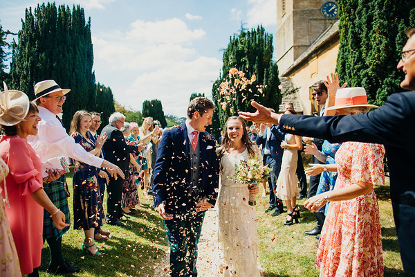 Stanway Barn. Will & Louise