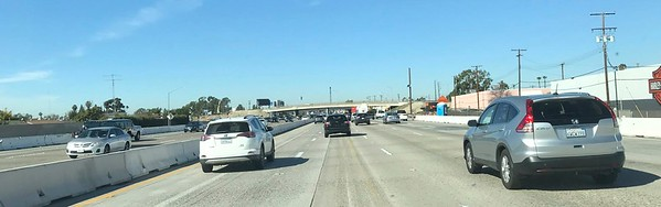 This is wide open traffic for Los Angeles.