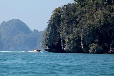 Yacht, Ao Phang Nga National Park, Phang-Nga Bay, Thailand