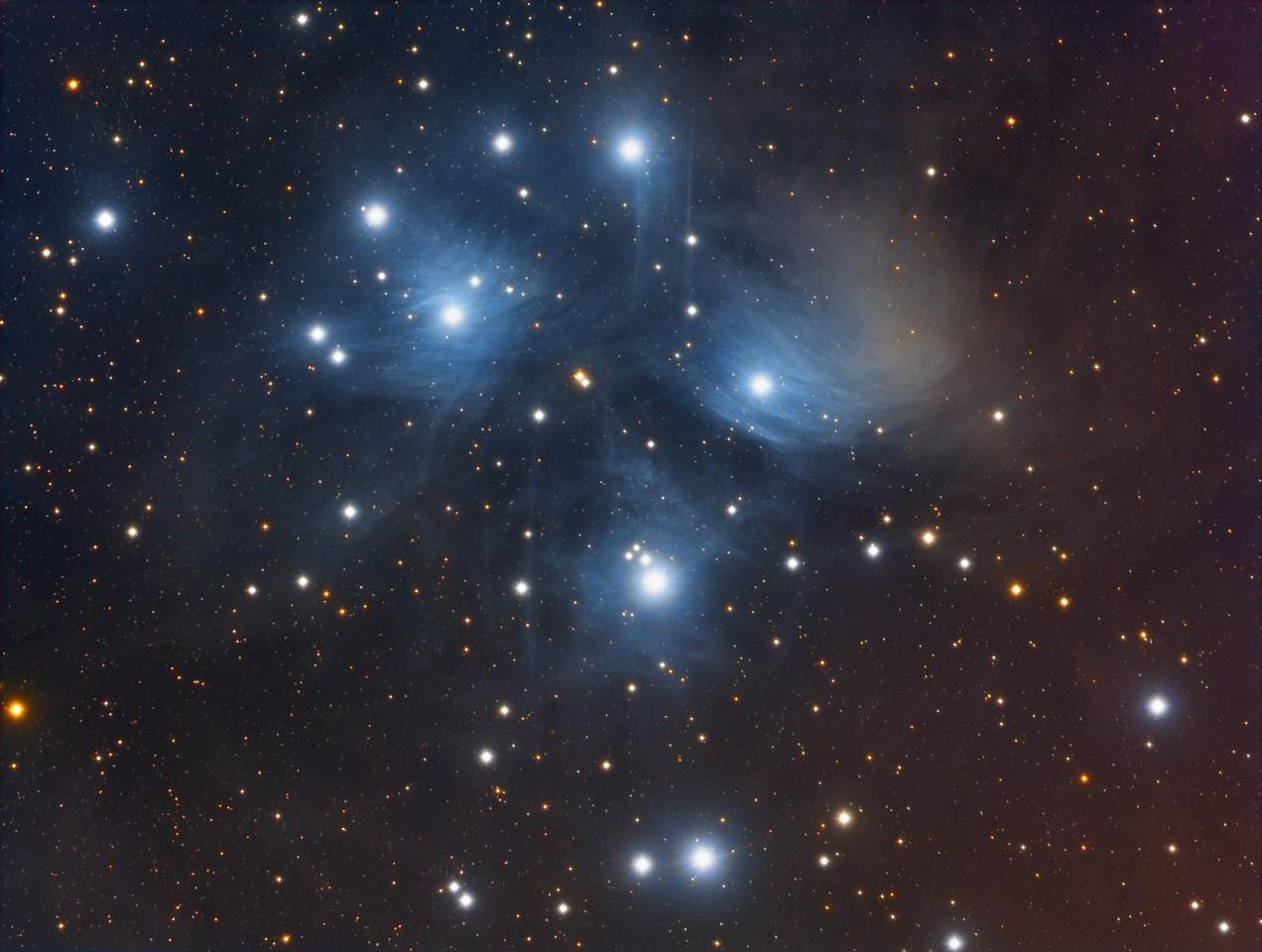 Pleiades Star Cluster  - M45