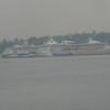 Zoom in of Pier 91, HAL Zaandam & RCI Rhapsody of the Seas
