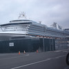 First glimpse of Star Princess at Pier 91!