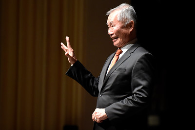 Star Trek's George Takei Speaks At CU