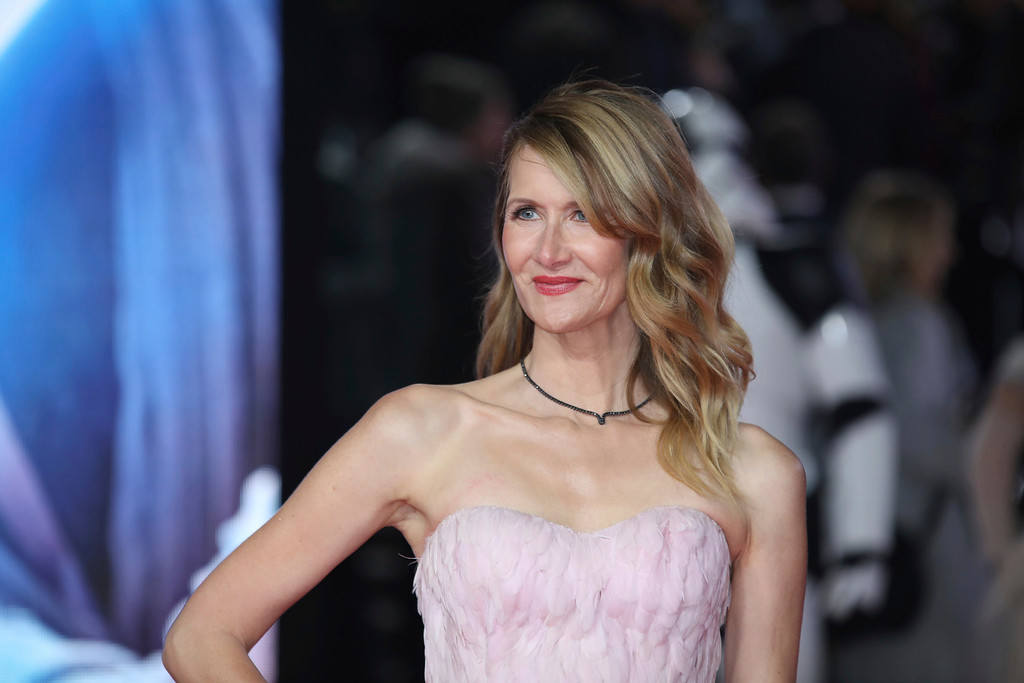 . Actress Laura Dern poses for photographers upon arrival at the premiere of the film \'Star Wars: The Last Jedi\' in London, Tuesday, Dec. 12th, 2017. (Photo by Vianney Le Caer/Invision/AP)