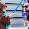 Padawan Nicholas waiting for training
