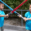 A short duel.
