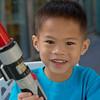Nicholas and his light saber