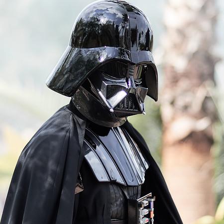 A Glimpse of Darth Vader