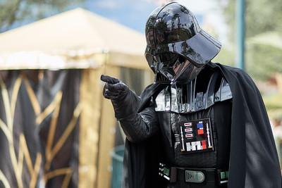 Three Film Generations - Darth Vader