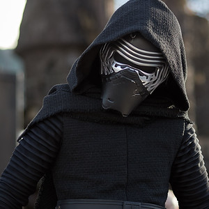 Kylo Ren at Trials of the Temple