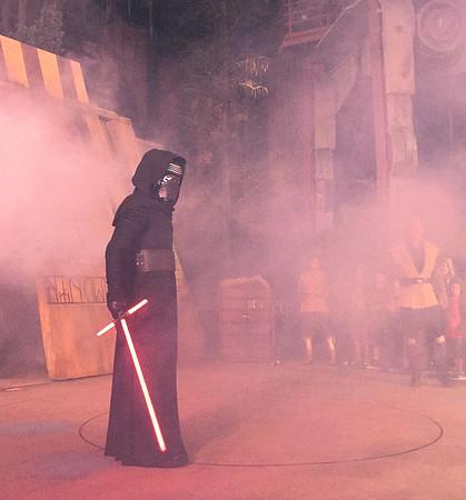 Kylo Ren.  Enforcer of The First Order