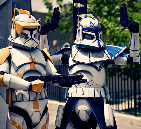 Commander Cody, Captain Rex.