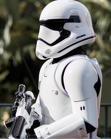 Aren't you a Little Short for a First Order Stormtrooper
