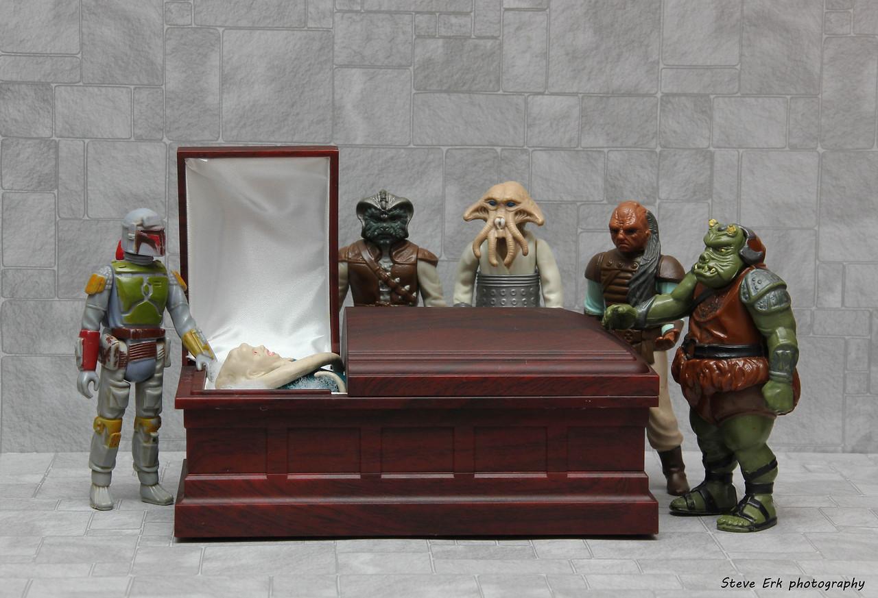 Bib Fortuna's funeral