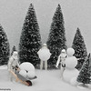 Snowtroopers making a snowman