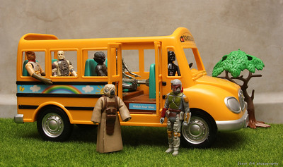 Bounty Hunter school bus