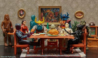 An Action Figure Thanksgiving