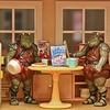Gamorrean guards having breakfast
