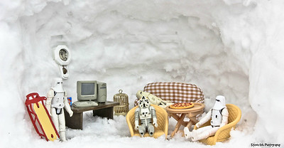 Behind the scenes in Hoth