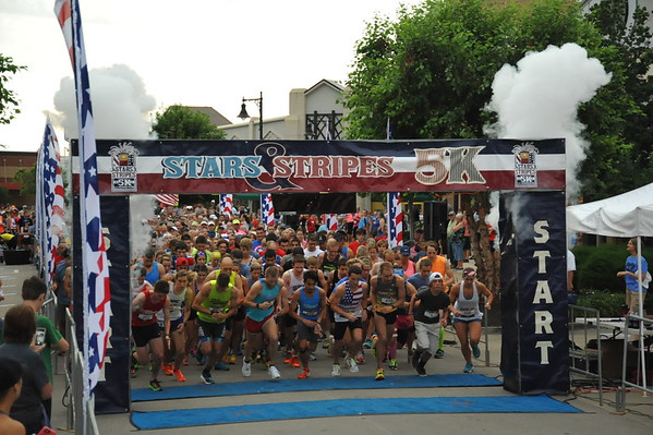 Star and Stripes 5k 2017