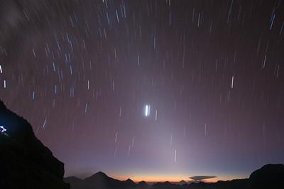 Venus — Mt. Rinjani - Lombok, Indonesia