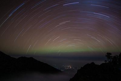 The North Star is below the horizon — Mt. Rinjani - Lombok, Indonesia