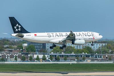 Air China Airbus A330-243 B-6075 4-19-19