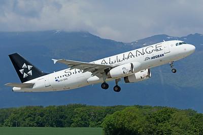 Aegean Airlines Airbus A320-232 SX-DVQ 5-21-19