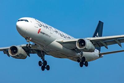 Air China Airbus A330-243 B-6075 3-29-19