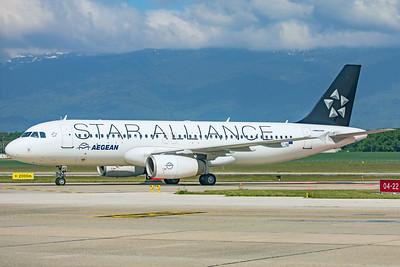 Aegean Airlines Airbus A320-232 SX-DVQ 5-21-19 2