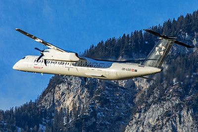 Austrian Airlines Bombardier DHC-8-402Q OE-LGO 12-14-19 2