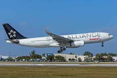 Avianca Airbus A330-243 N342AV 2-13-20