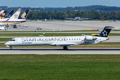 Adria Airways Bombardier CL-600-2D24 CRJ-900LR S5-AAV 9-13-19 2