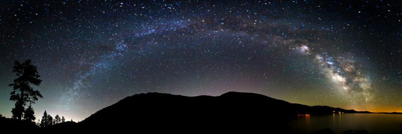 Milky Way over Sand Harbor