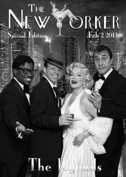 The Rat Pack and Marilyn...NYC!