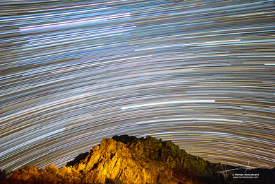 StarTrails to the North