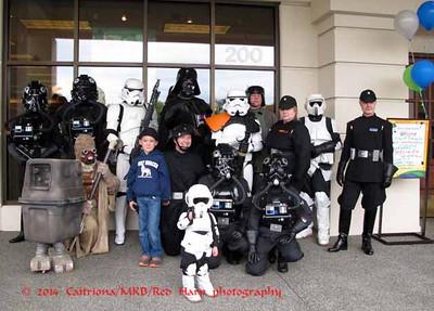 Just the imperials of Garrison Titan